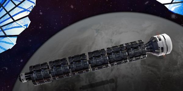 Космический поезд Солнечный экспресс