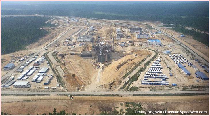 Комплекс измерительных средств накосмодроме Восточный будет сдан к20сентября