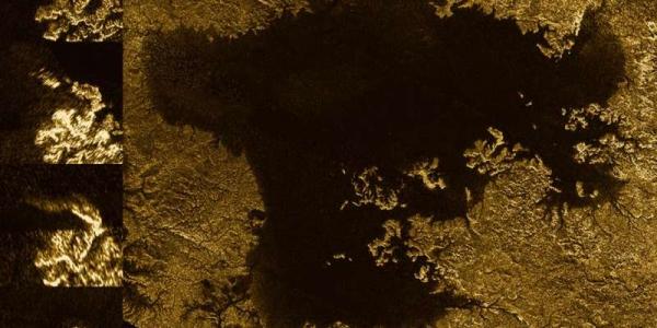 Затопленные каньоны на Титане