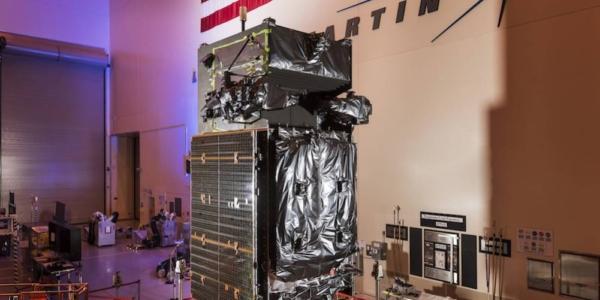 Запуск противоракетного спутника ВВС США