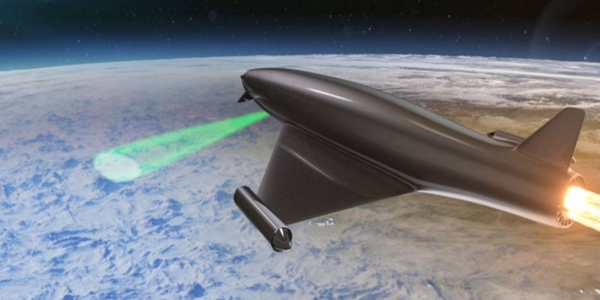 Laser Developed Atmospheric Lens