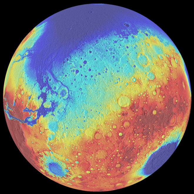 Удивительный сон Марса в четыреста миллионов лет между двумя большими ударами