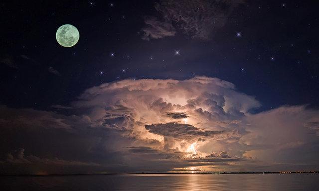 Июльская полная Громовая Луна – когда ее можно будет увидеть?