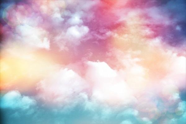 Разноцветные облака над восточным побережьем Штатов – NASA развлекается!
