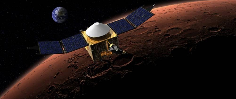 MAVEN Орбитальная миссия NASA на Марс - детали