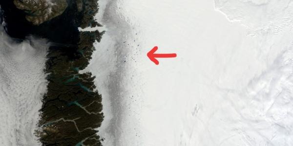 В Гренландии обнаружена таинственная Темная зона