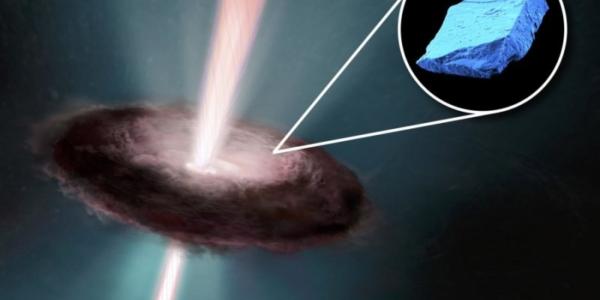 Синие кристаллы в метеорах рассказывают об ужасно сложной судьбе нашего Солнца
