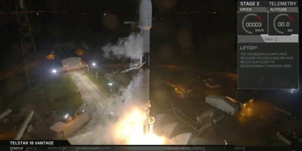 Доброе утро для SpaceX: очередной запуск уникального спутника