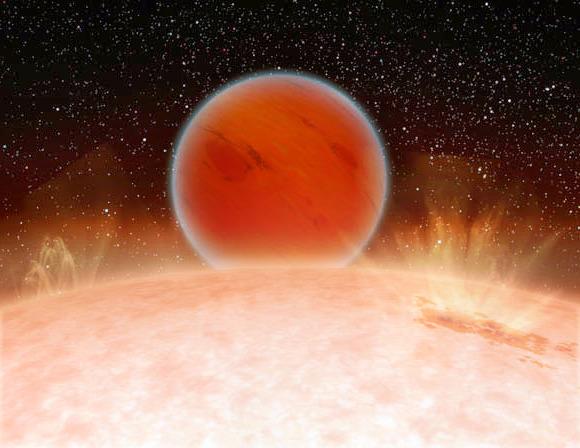 Обнаруженная горячая планета