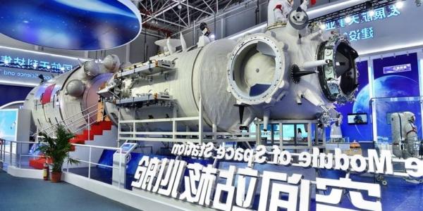 Строящаяся китайская космическая станция Тяньгун-2