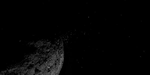 Астероид Бенну оказался тем редким объектов, который выбрасывает в пространство частицы