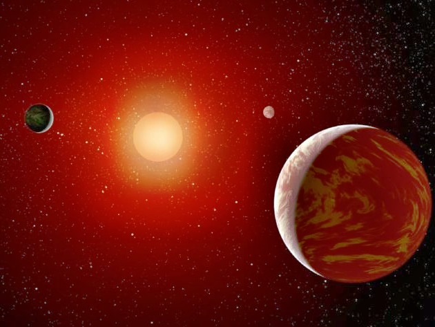 На планете, движущейся вокруг звезды - карлика, может быть атмосфера