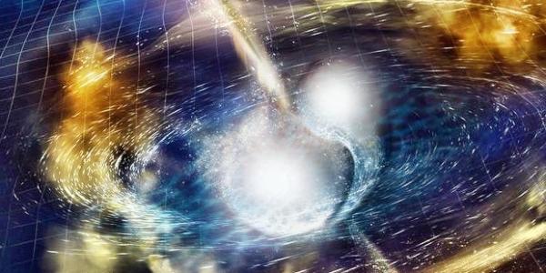 На близком расстоянии от нас столкнулись нейтронные звезды