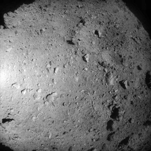 Хаябуса2 снова берет пробы с астероида