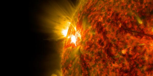Ученые наблюдают явлением «межпланетный шок»
