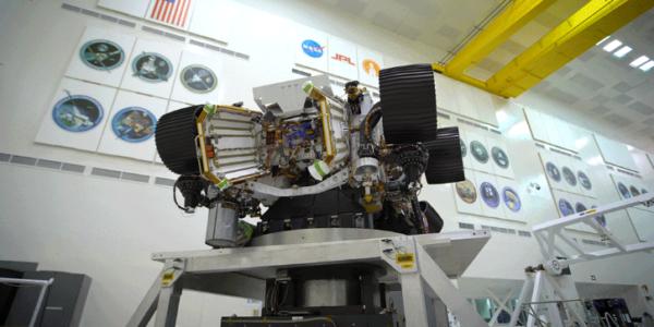 Марс 2020 НАСА проходит полный круг