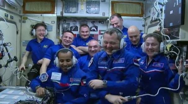 Переполненная космическая станция
