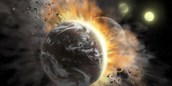 Ученые смотрят на столкновение удаленных экзопланет