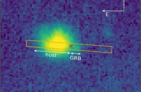 Астрономы расследуют любопытный случай сверхновой, связанный со вспышкой гамма-излучения