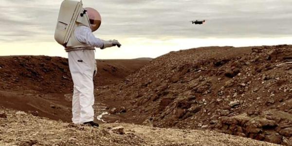 Умная астронавтская перчатка для исследования Луны, Марса и других мест