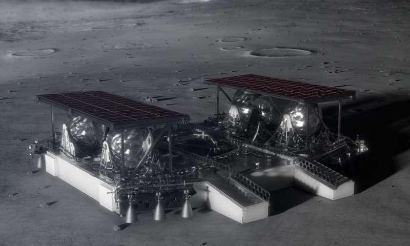 NASA делится с промышленностью концепцией среднеразмерного роботизированного лунного аппарата