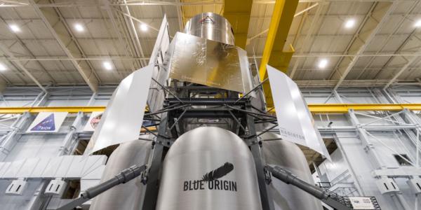 У NASA появилась новая игрушка: лунный модуль от Blue Origin