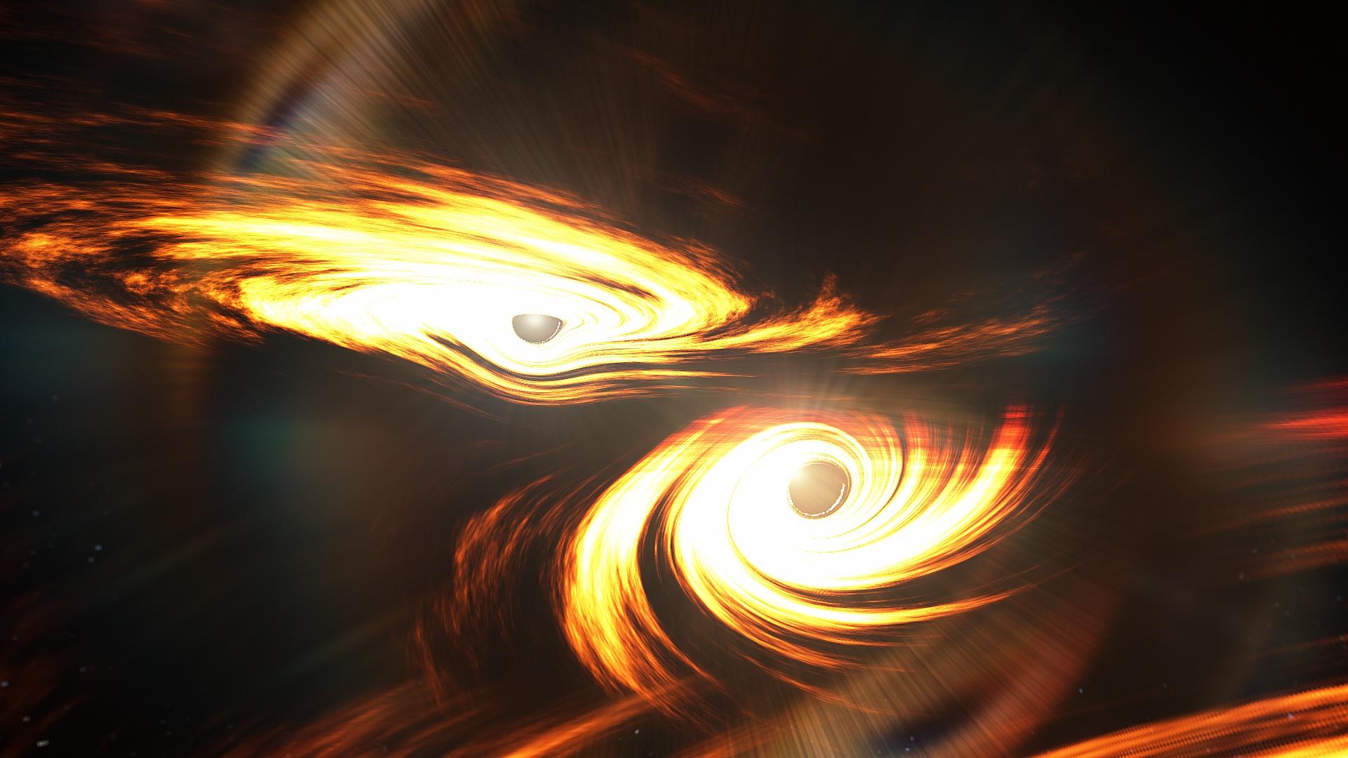 Новый взрыв гравитационных волн указал на существование неуловимой черной дыры