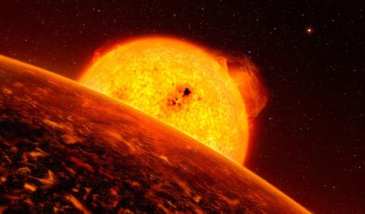 Экстремальный странный мир: расплавленная планета с океаном из лавы и сверхзвуковыми ветрами