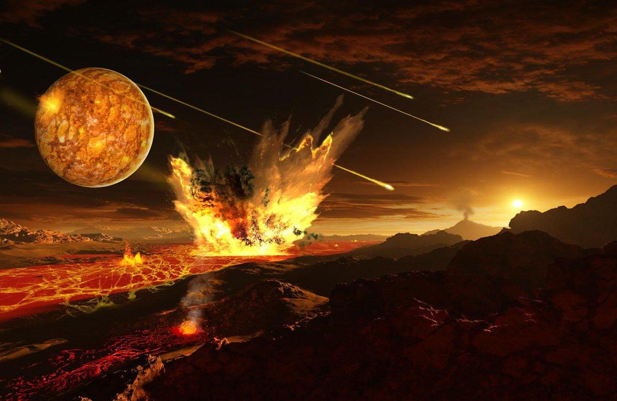 Земля оказалась такой же токсичной, как Венера
