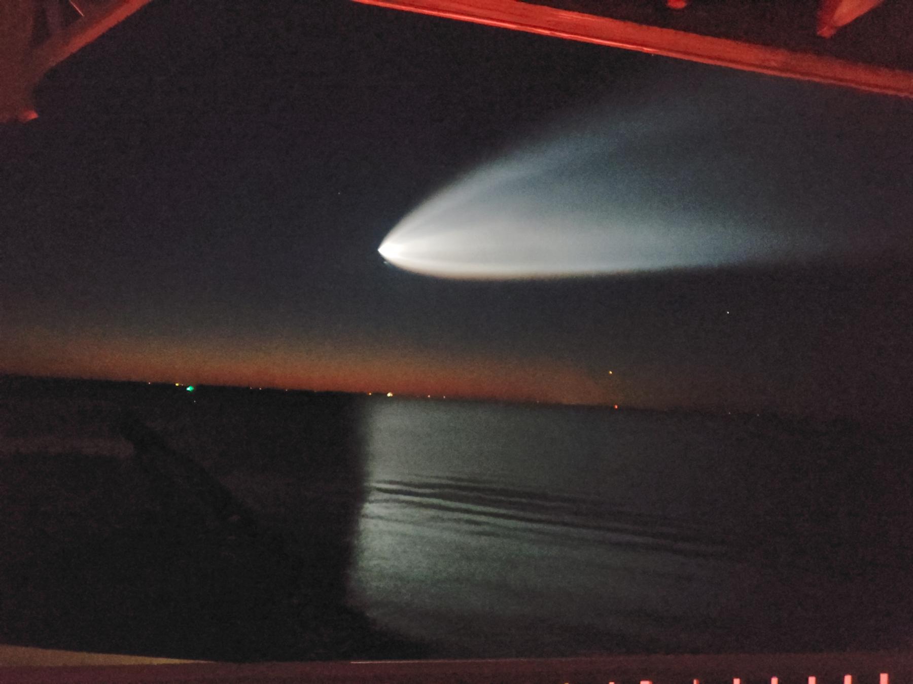 Огненный шар или космическая медуза? Что же видели над восточным побережьем США?