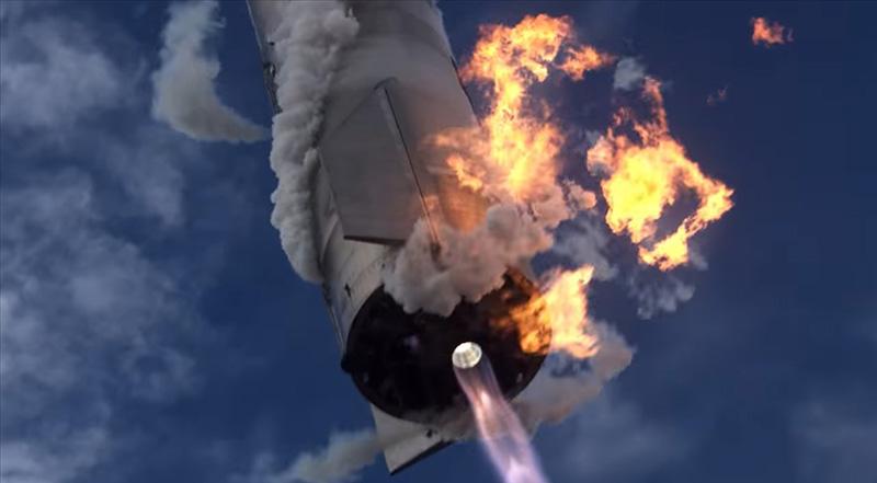Почему Starship SN11 превратился в большой огненный шар?