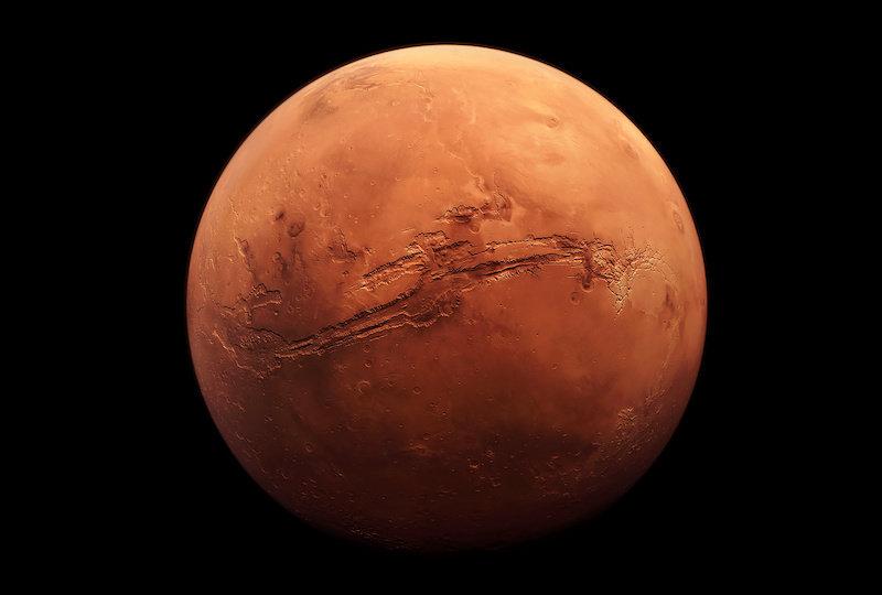 Как марсоход оказался у дельты реки, если Марс сухая пустынная планета?