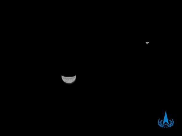 Невероятные снимки глубокого космоса китайского зонда Chang'e 5