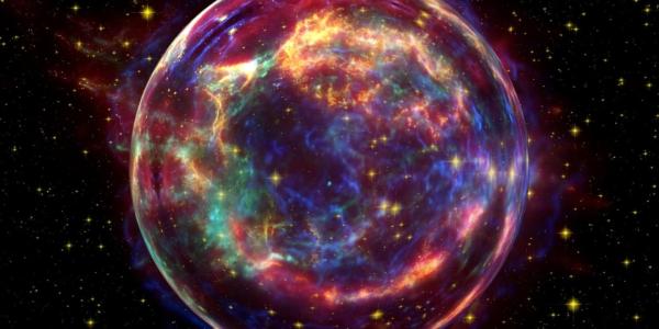 Почему эта странная металлическая звезда катапультируется из Млечного пути?