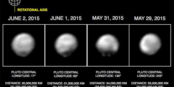Сближение зонда НАСА и Плутона