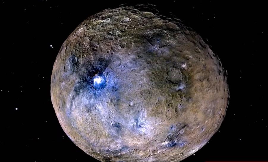 Внутри Цереры ученые обнаружили гигантское ядро