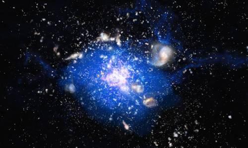 галактика паутина