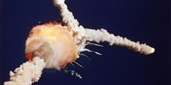 Взрыв космического корабля