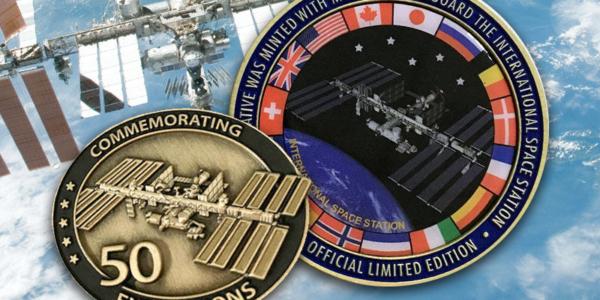 Летающие сувениры - NASA отмечает пятьдесят космических экспедиций на МКС