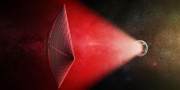 Странные световые вспышки в пространстве – результат передвижения кораблей пришельцев?
