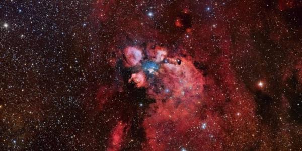 Протозвезда перестраивает свой звездный питомник