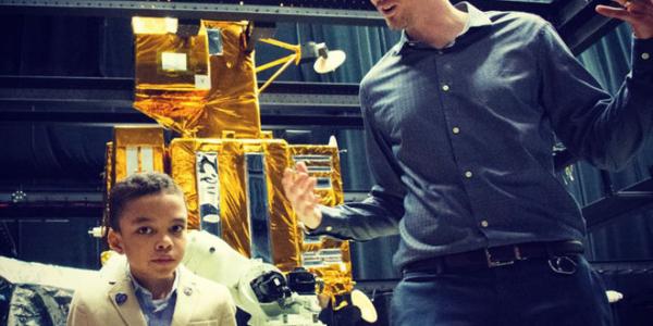 Семилетний ученый посетил Центр космических полетов NASA