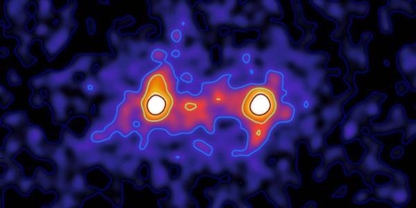 Первые снимки темной материи, держащей Вселенную вместе