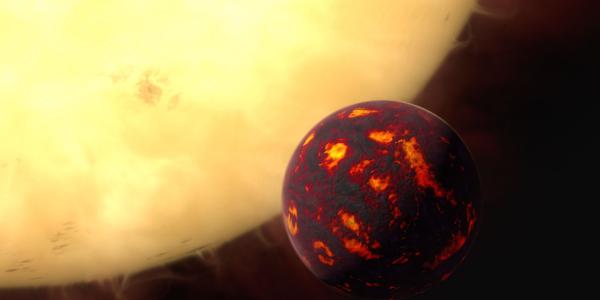 55 Cancri e – супергорячая суперземля