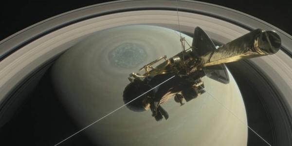 Документальный фильм о погружении зонда Кассини в мир Сатурна