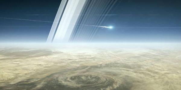 Кассини погружается в Сатурн навсегда - последний день зонда