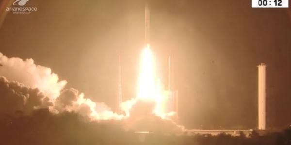 Несмотря на аномалию в процессе запуска спутник доставлен на орбиту!