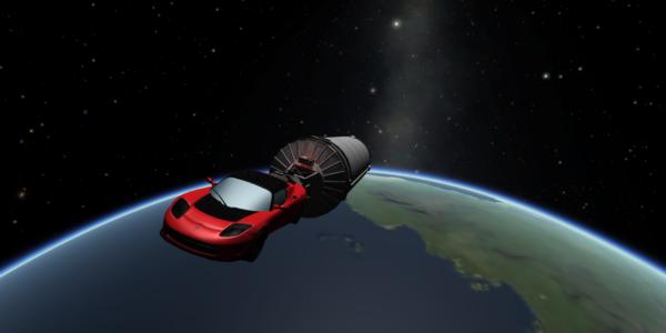 Что ждет первую машину, отправленную в космос SpaceX?
