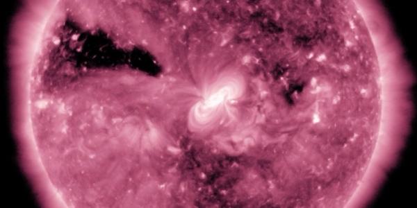 Насовская обсерватория разглядела солнечное затмение прямо в космосе!