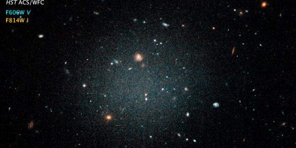 Астрономы открыли Невозможную галактику без темной материи